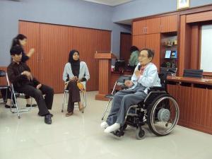 Kunjungan Mr. Shoji Nakanishi